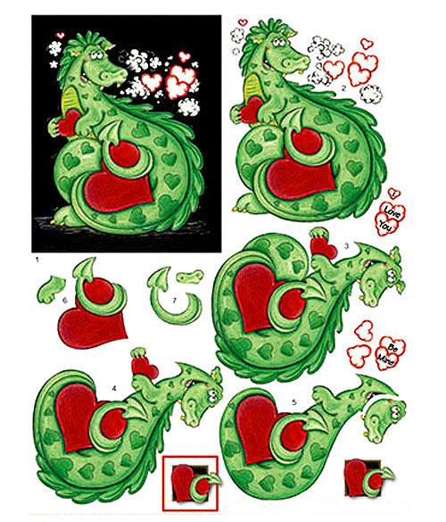 новогодний-декупаж-дракон 2