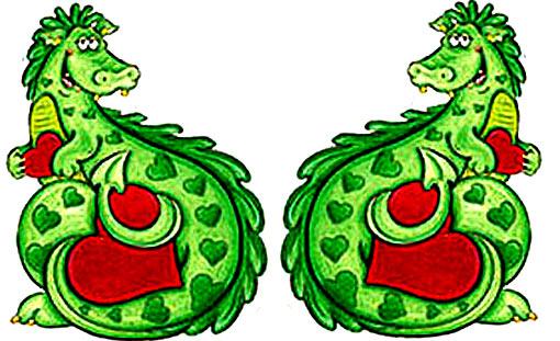 новогодний-декупаж-дракон
