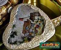 шкатулка с кракелюром фото