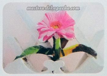 Декупаж кашпо для цветов 8