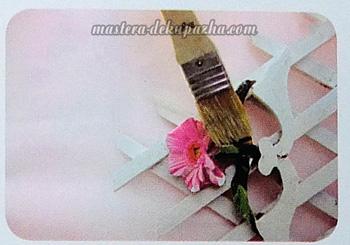 Декупаж кашпо для цветов 9