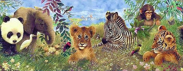 Картинки для декупажа - животные
