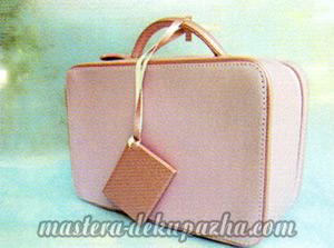 Мастер класс по декупажу сумочки - чемодана 1